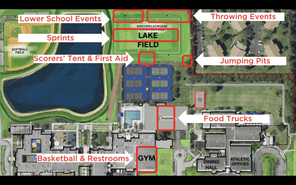 PBDA Field Day map 2019