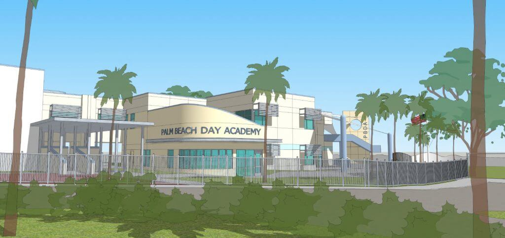 Palm Beach Day Academy Lower Campus building