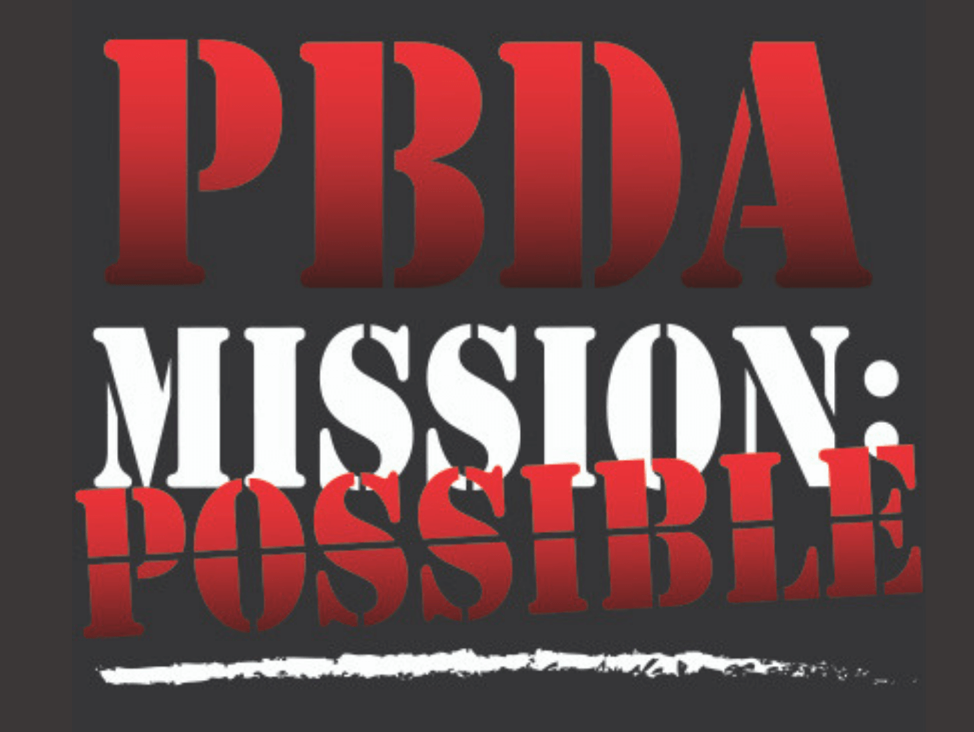 PBDA Mission Possible 2019 fundraiser