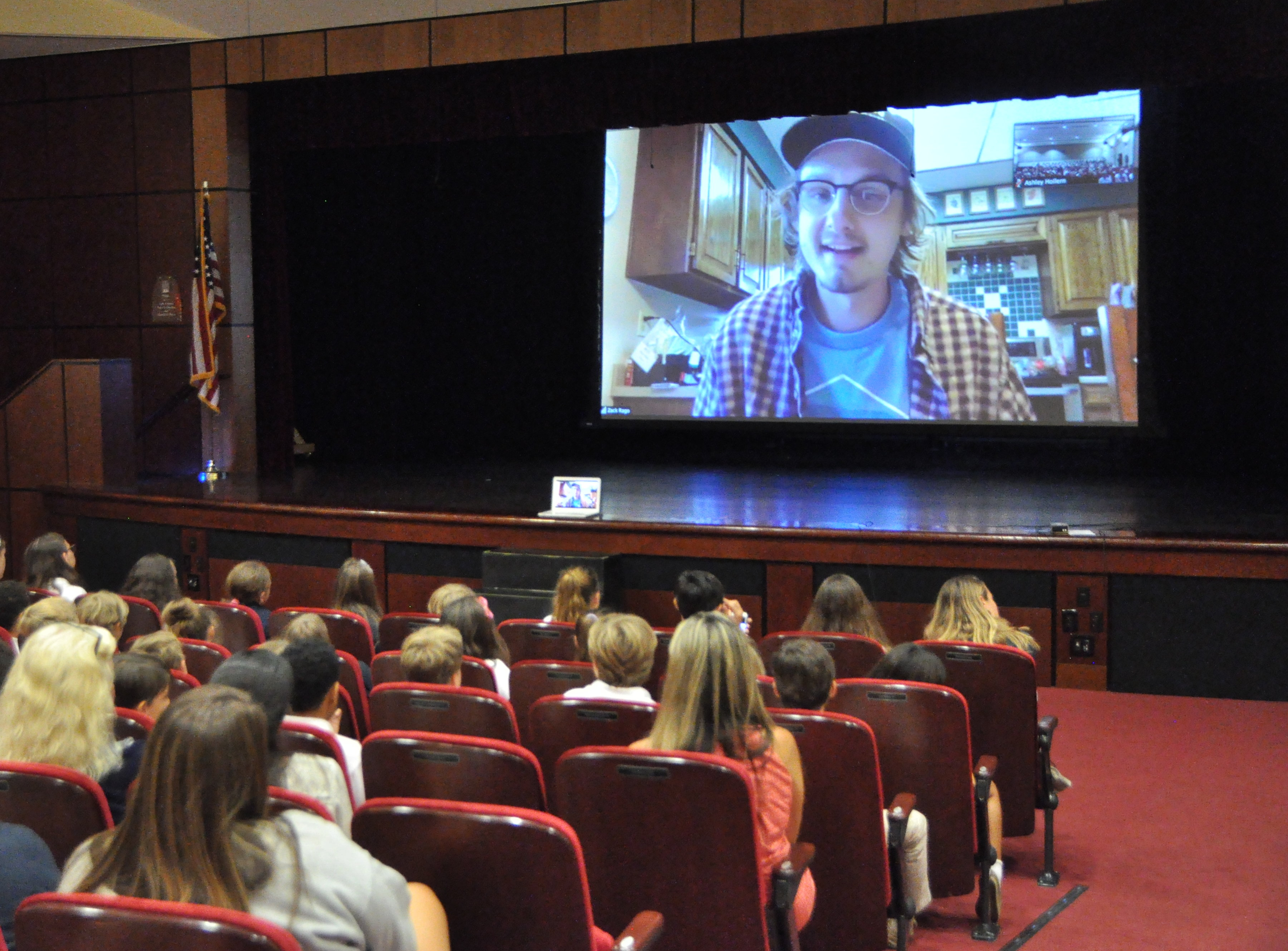 Palm Beach Day Academy hosts Zack Rago Chasing Coral