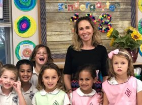 Palm Beach Day Academy Kindergarten teacher Courtney Ellender