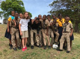 Palm Beach Day Academy alumni Rafe Cochran in Jamaica