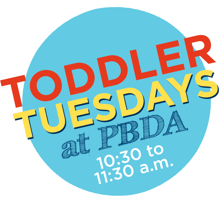 PBDA Toddler Tuesdays free events West Palm Beach