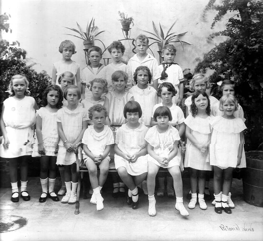Palm Beach School for Girls Student Body, 1927