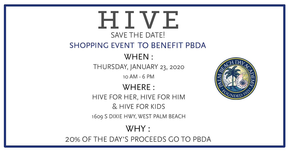 HIVE and Palm Beach Day Academy