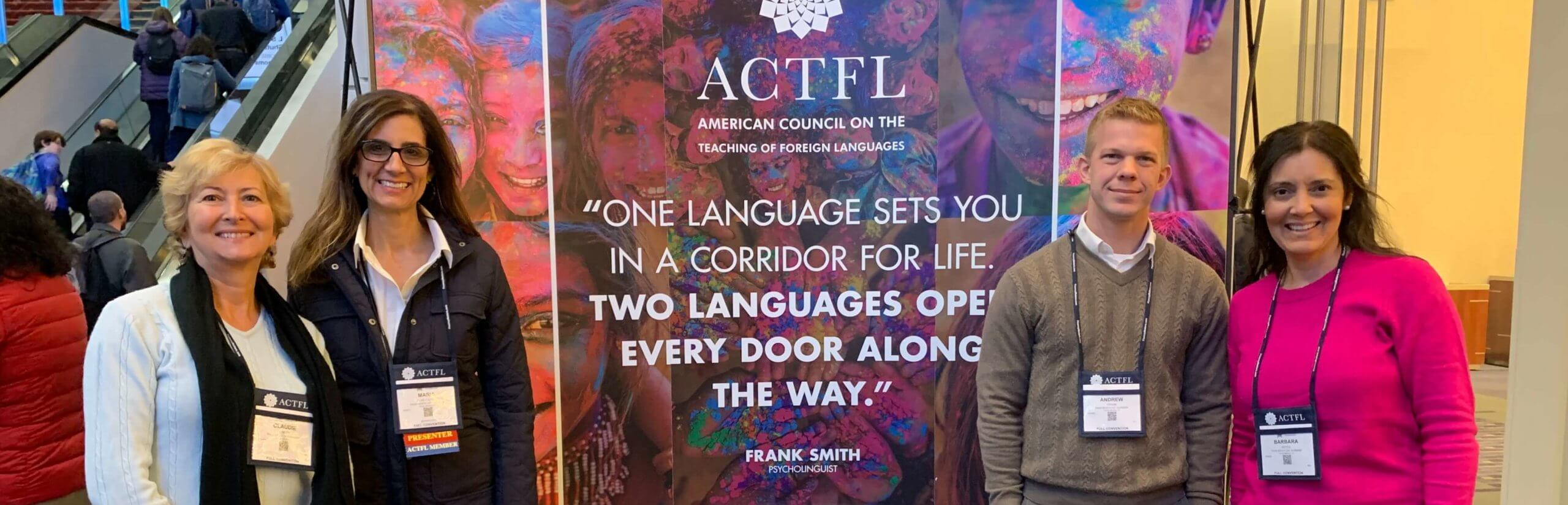PBDA Foreign Language attend ACTFL Professional Development