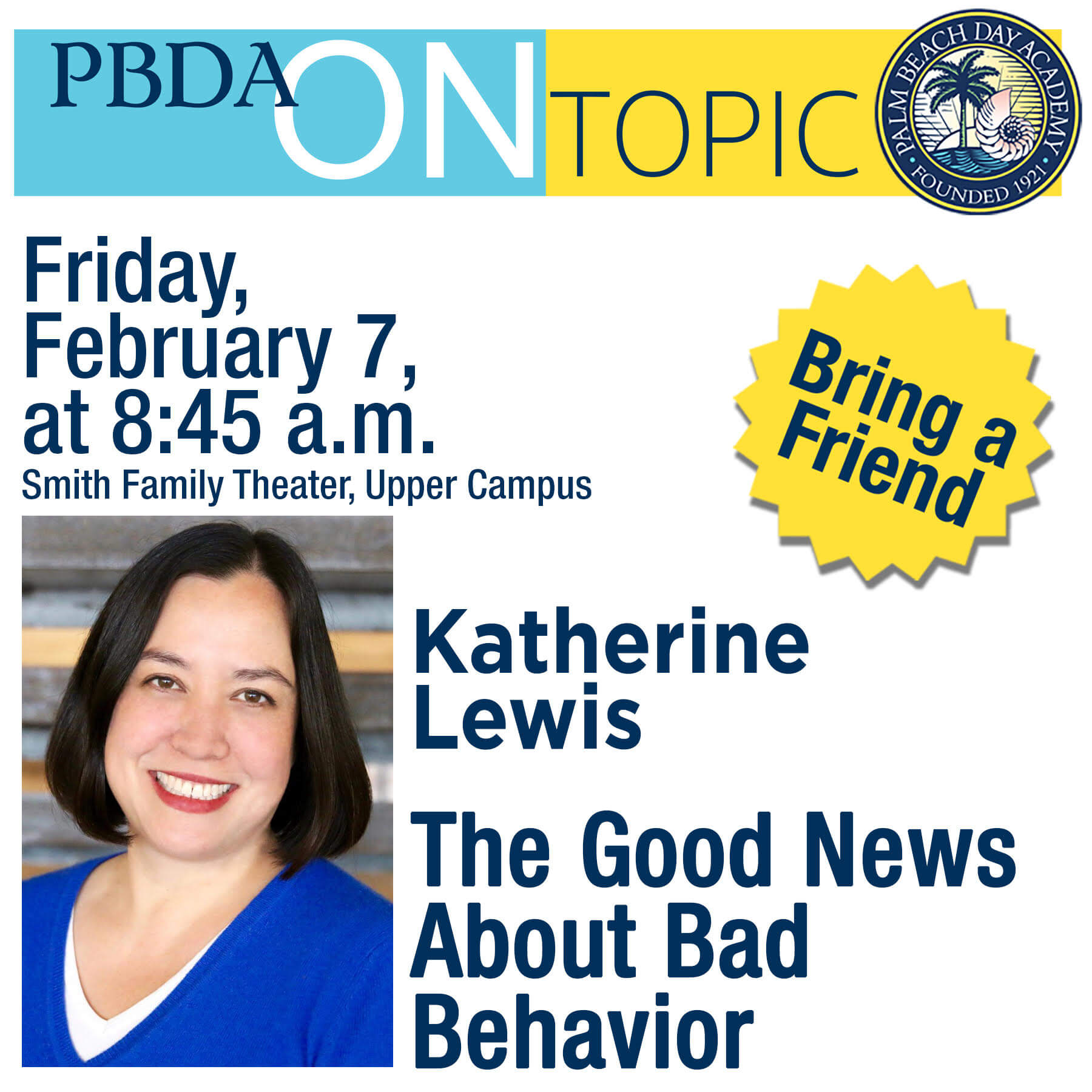 PBDA On Topic Katherine Lewis