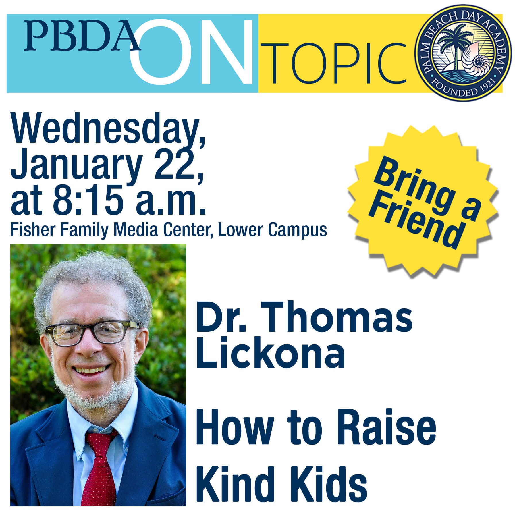 PBDA On Topic Thomas Lickona, Ph.D.