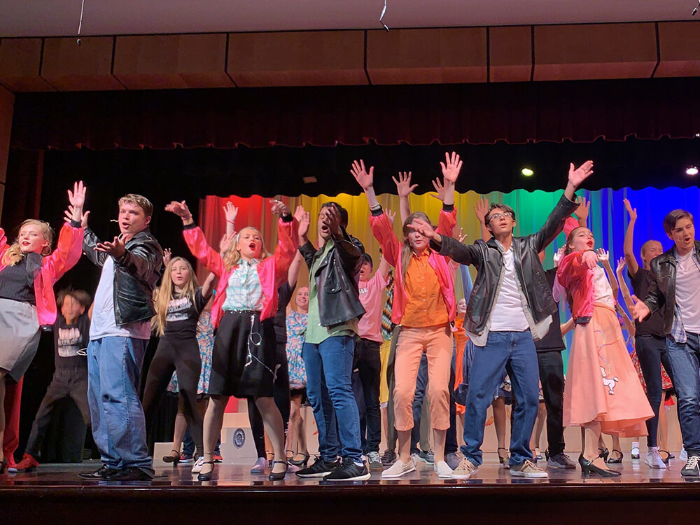 PBDA Upper Campus Musical Grease 2019