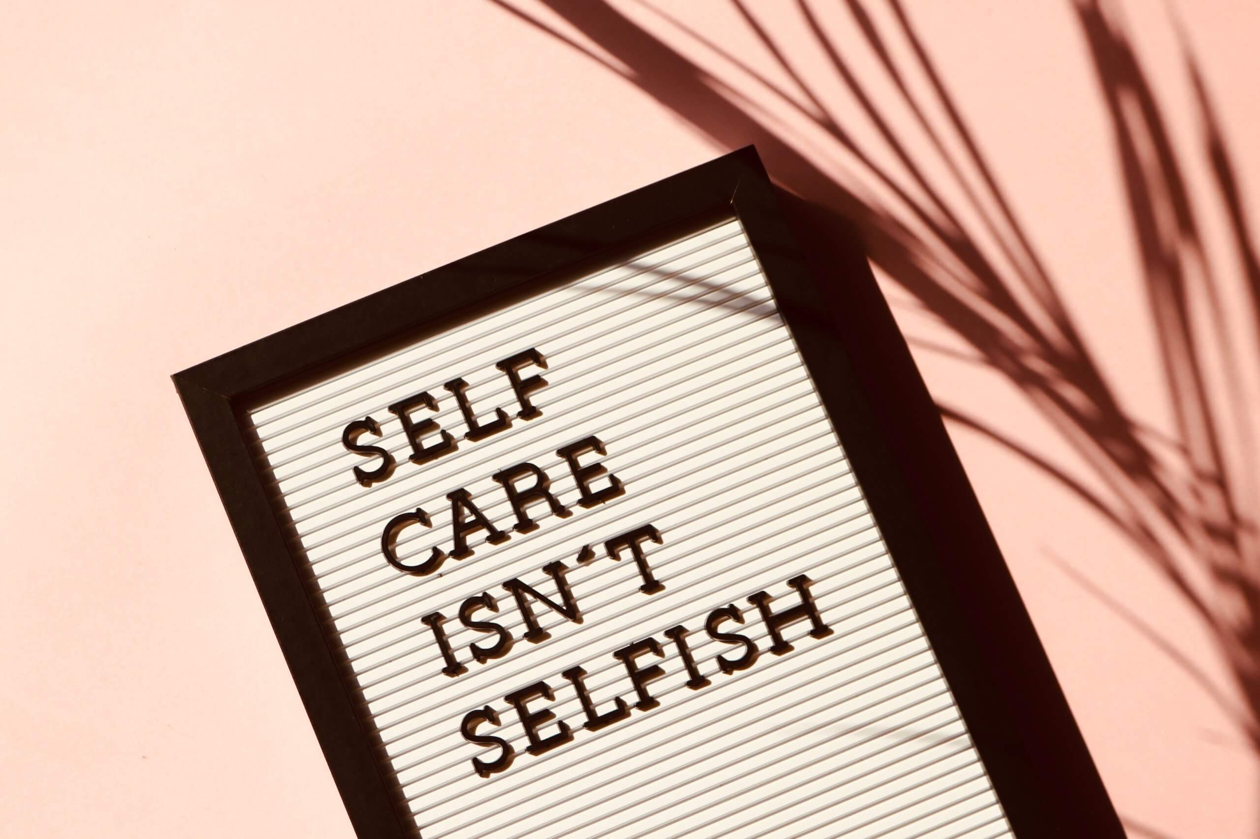 Self Care at PBDA during covid-19 and distance learning