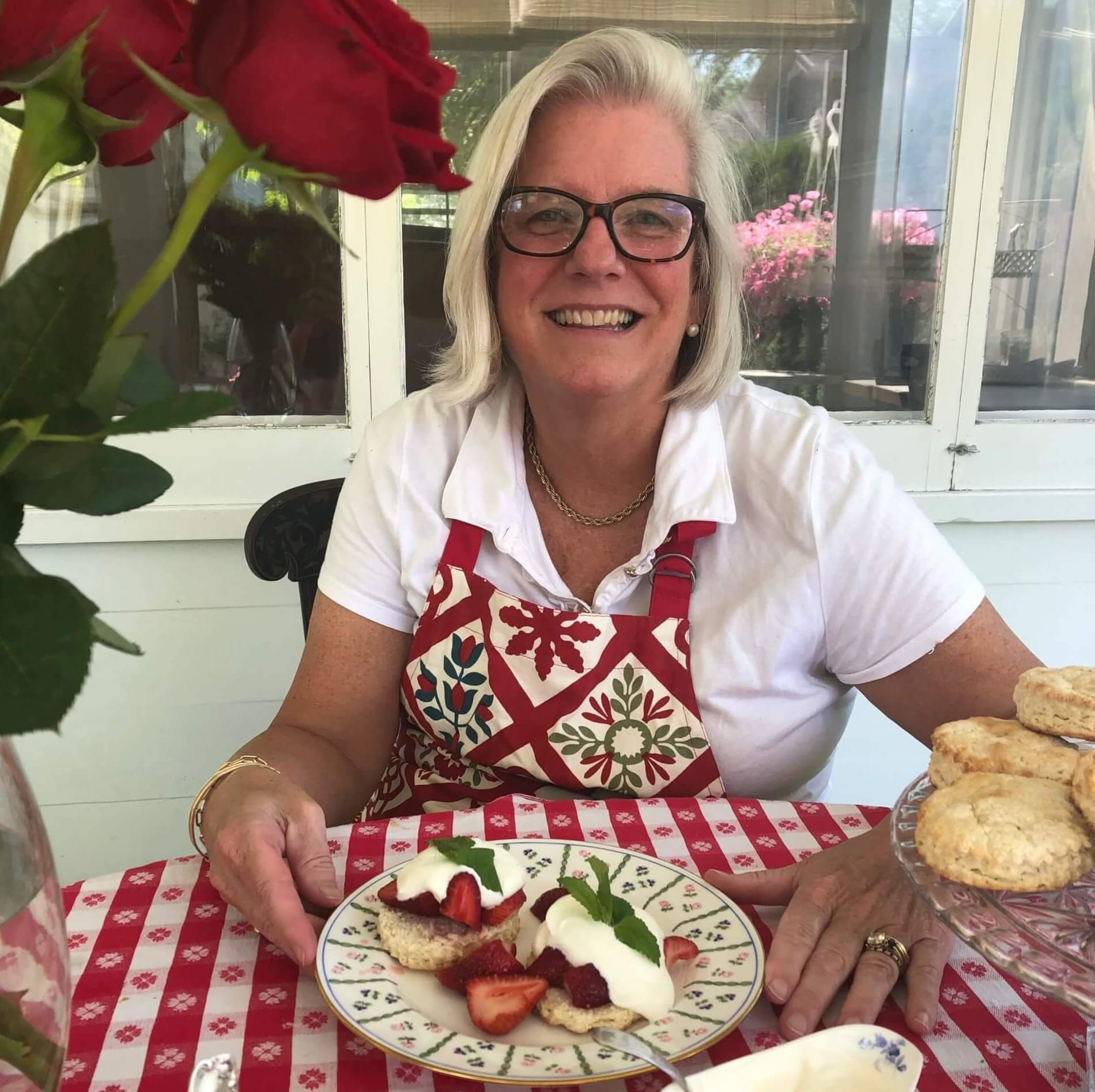 Mrs. Bjorklund Strawberry Shortcake recipe