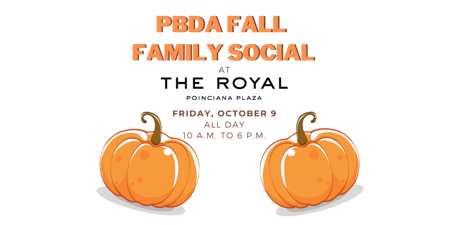 PBDA Fall Family Social The Royal Poinciana Plaza